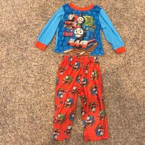 Thomas Train Engine boys 3T matching pajama set
